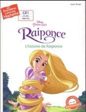 Mes premières lectures ; princesse Raiponce ; l'histoire de Raiponce - Couverture - Format classique