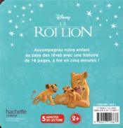 Le Roi Lion ; à la recherche d'une tanière secrète - 4ème de couverture - Format classique