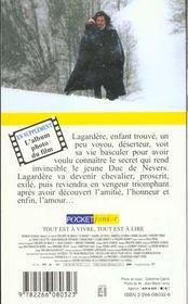 Le bossu - 4ème de couverture - Format classique