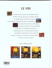 Atlas Pratique Du Vin - 4ème de couverture - Format classique