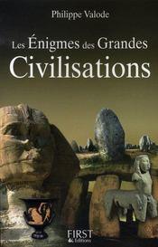 Les enigmes des grandes civilisations - Intérieur - Format classique
