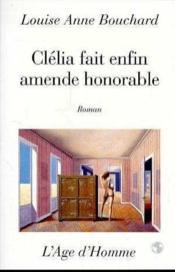 Cecile Fait Enfin Amende Honorable - Couverture - Format classique