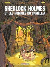 Baker Street t.3 ; Sherlock Holmes et les hommes du camellia - Intérieur - Format classique