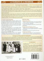 Petit Guide T.53 ; La Généalogie - 4ème de couverture - Format classique