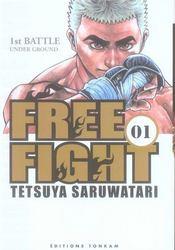 Free fight t.1 - Intérieur - Format classique