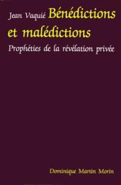 Benedictions et maledictions - Couverture - Format classique