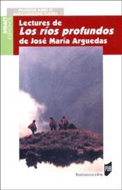 Lectures de los ríos profundos de José María Arguedas - Couverture - Format classique