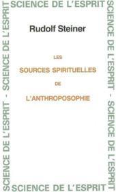 Sources spirituelles anthropo - Couverture - Format classique