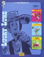 Lucky Luke ; intégrale t.15 - Intérieur - Format classique