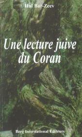 Une Lecture Juive Du Coran - Intérieur - Format classique