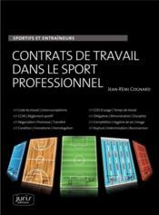Contrat de travail du sportif - Couverture - Format classique