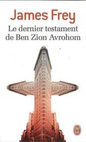 Le dernier testament de Ben Zion Avrohom - Couverture - Format classique