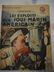 Les Exploits D'Un Sous-Marin Americain - Couverture - Format classique