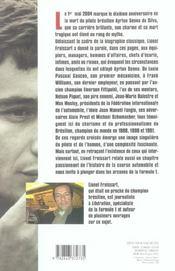 Ayrton Senna ; croisements d'une vie - 4ème de couverture - Format classique