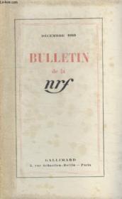 Bulletin Decembre 1949 N°30. - Couverture - Format classique