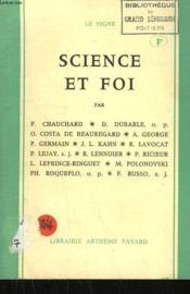Science Et Foi. - Couverture - Format classique