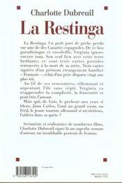 La restinga - 4ème de couverture - Format classique