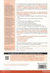 Comptabilité générale ; principes et applications - 4ème de couverture - Format classique