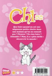 Chi ; une vie de chat T.8 ; Chi découvre le monde - 4ème de couverture - Format classique