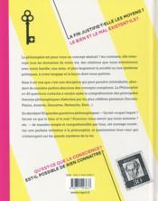 La philosophie en 50 questions - 4ème de couverture - Format classique