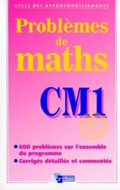 Problèmes de maths ; CM1 ; fichier photocopiable - Couverture - Format classique