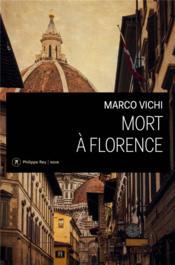 Mort à Florence - Couverture - Format classique