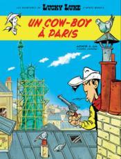 Lucky Luke T.8 ; un cow-boy à Paris - Couverture - Format classique