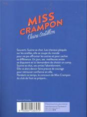 Miss Crampon - 4ème de couverture - Format classique