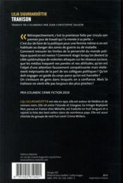 Trahison - 4ème de couverture - Format classique