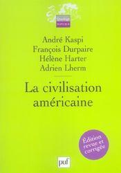 La civilisation americaine (2e édition) - Intérieur - Format classique