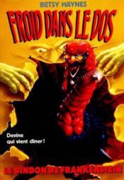 Froid Dans Le Dos T.6 Le Dindon De Frankenstein - Couverture - Format classique