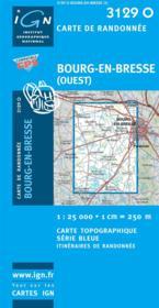 Bourg-en-Bresse (ouest) - Couverture - Format classique