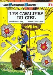 Les tuniques bleues t.8 ; les cavaliers du ciel - Intérieur - Format classique