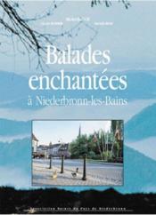 Balades enchantées à Niederbronn-les-bains - Couverture - Format classique