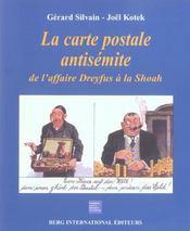 Carte postale antisemite (la) de l'affaire dreyfus a la shoah - Intérieur - Format classique