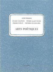 Arts Poetiques - Couverture - Format classique