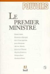 Pouvoirs, n 083, le premier ministre - Couverture - Format classique