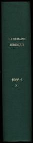 SEMAINE JURIDIQUE - Édition Notariale & Immobilière, de 1968 à 2007 - Couverture - Format classique