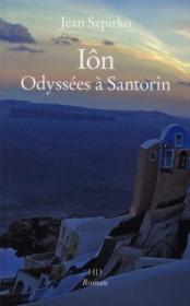Ion odyssees a santorin - Couverture - Format classique