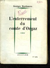 L Enterrement Du Comte D Orgaz. - Couverture - Format classique
