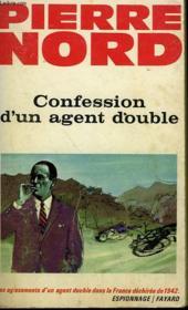 Confession D'Un Agent Double. - Couverture - Format classique