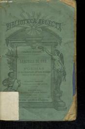 Leyendas De Oro, Poesias De Los Principales Autores Modernos Vertidas En Rima Castellana - Couverture - Format classique