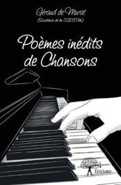 Poèmes inédits de chansons - Couverture - Format classique