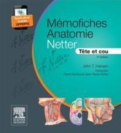 Mémo-fiches ; anatomie Netter ; tête et cou (4e édition) - Couverture - Format classique