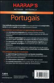 Méthode intégrale ; portugais - 4ème de couverture - Format classique
