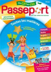 Passeport ; de CE1 au CE2 - Couverture - Format classique
