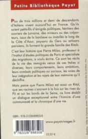 Voyage en Ritalie - Couverture - Format classique