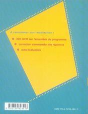 Information communication ; première stg - 4ème de couverture - Format classique