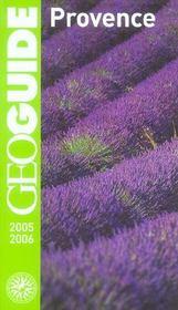 Geoguide ; Provence - Intérieur - Format classique
