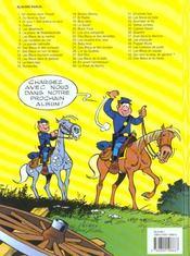 Les tuniques bleues t.9 ; la grande patrouille - 4ème de couverture - Format classique
